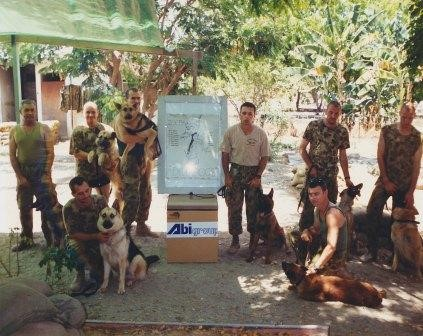 The first deployment of RAAF MWD to East Timor.