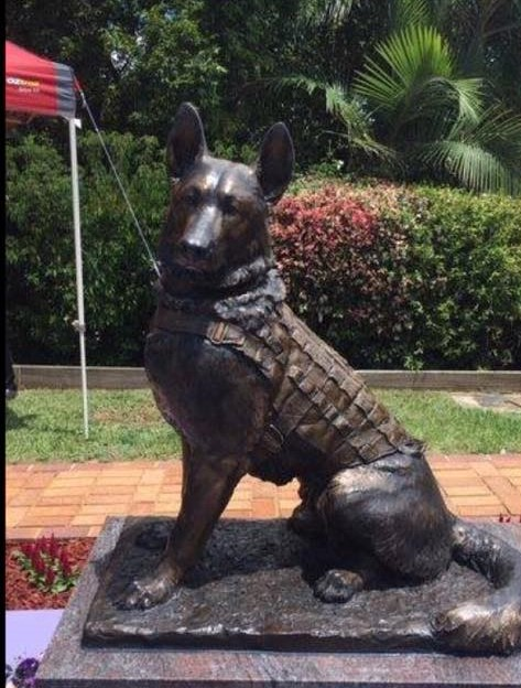 Kennel Control Council of Queensland Dog Memorial
