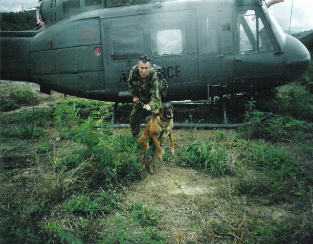 Kiwi Campbell and MWD COBRA East Timor 1999
