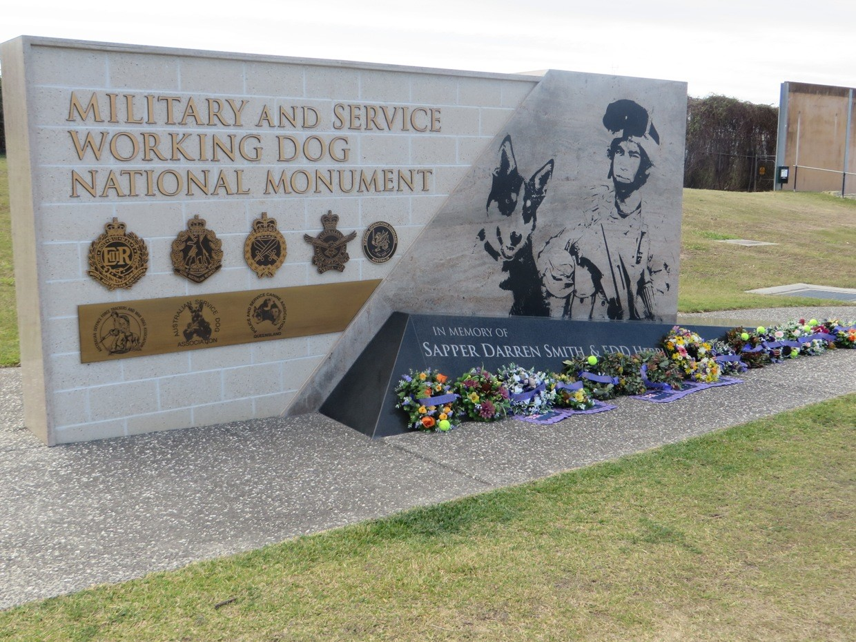 The Military and Service Working Dog National Monument